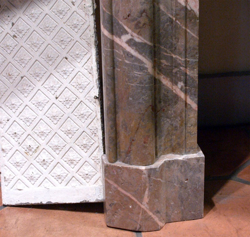 18th Century French Marble Mantle 7