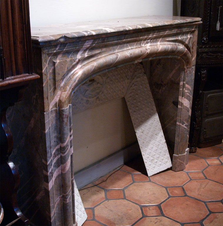 18th Century French Marble Mantle 9
