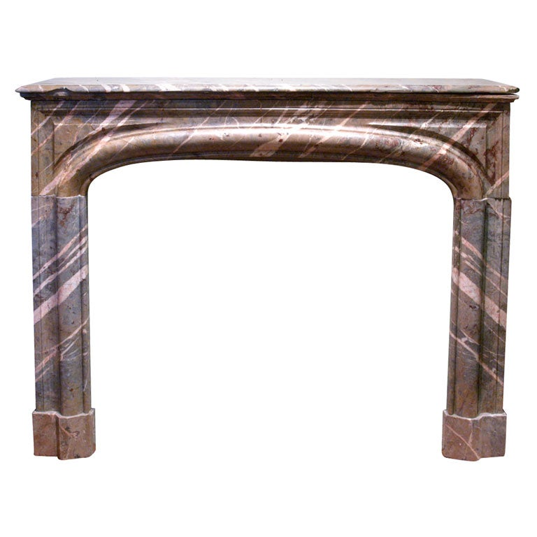 18th Century French Marble Mantle 1