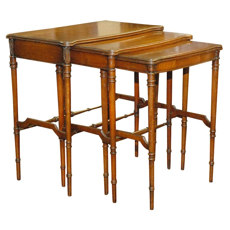 American Nesting Tables At 1stdibs