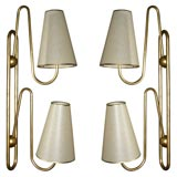 Two 1950s Sconces by Jean Royere