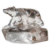 Rock Crystal Bear