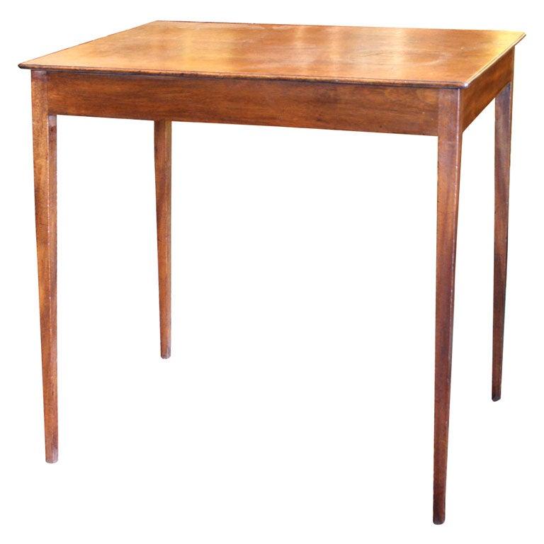 Oak Side Table At 1stdibs