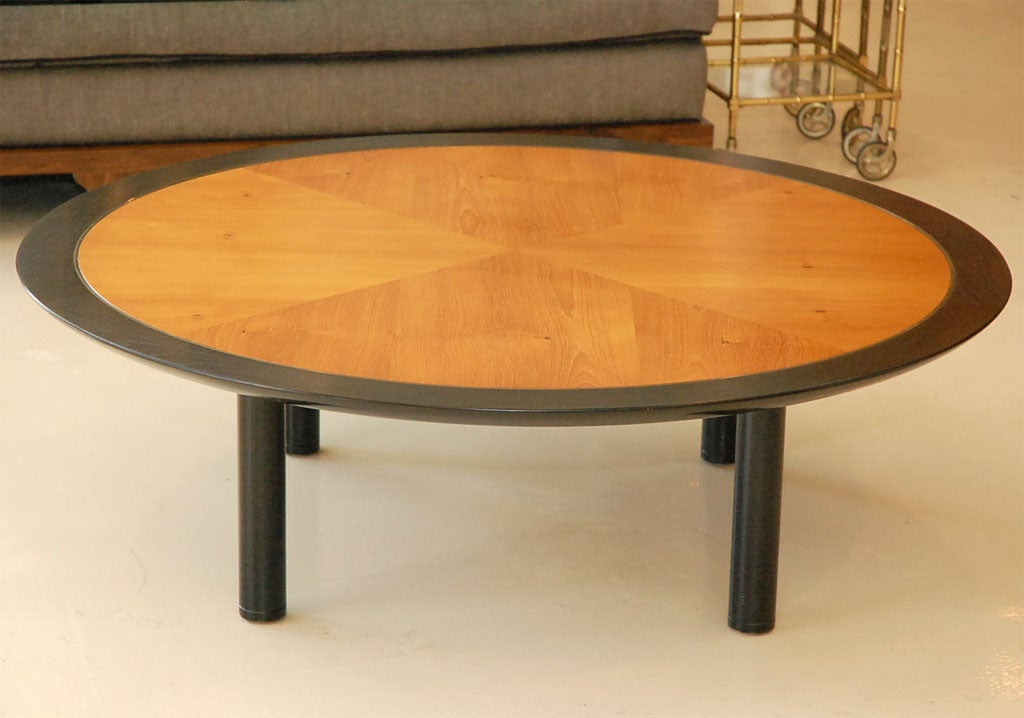Round Baker Coffee Table At 1stdibs