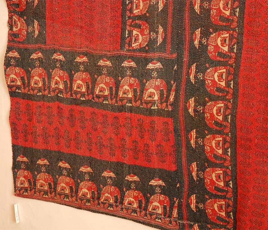 Vintage Jalli Gypsy Quilt In Good Condition For Sale In Los Angeles, CA