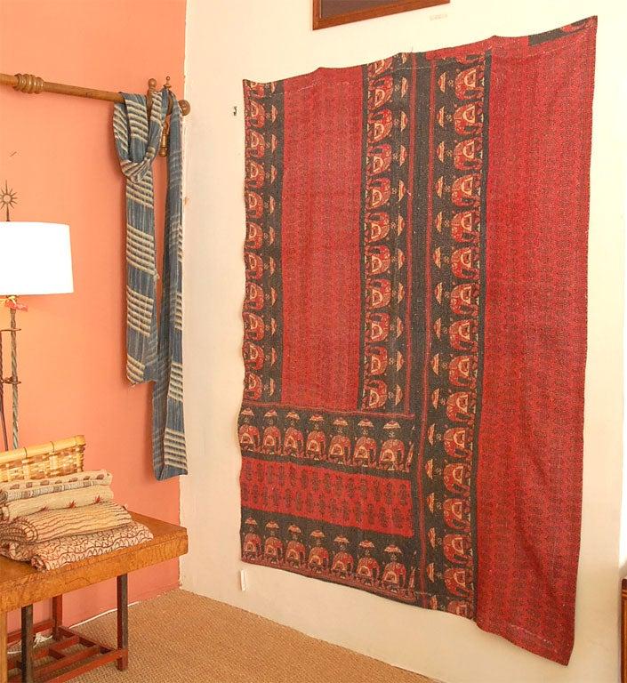 Vintage Jalli Gypsy Quilt For Sale 3