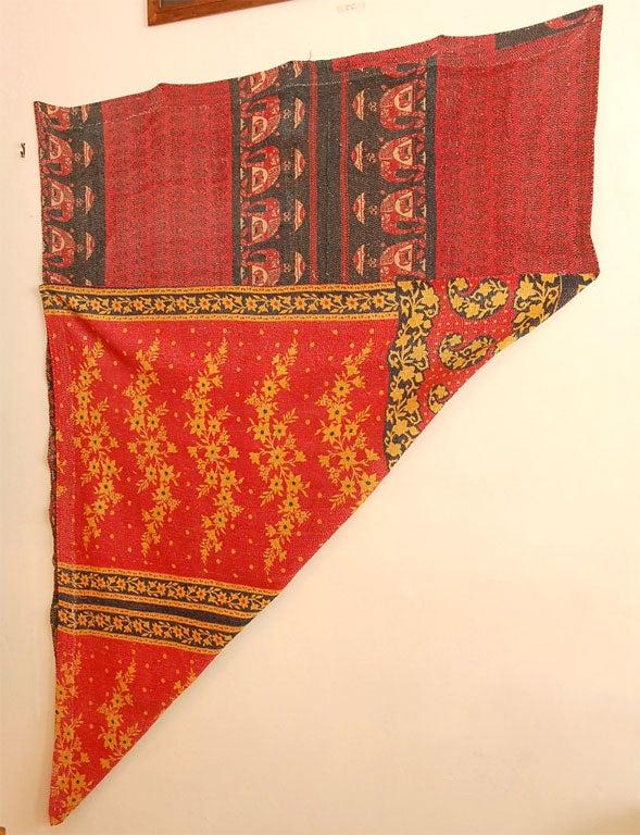 Vintage Jalli Gypsy Quilt For Sale 4