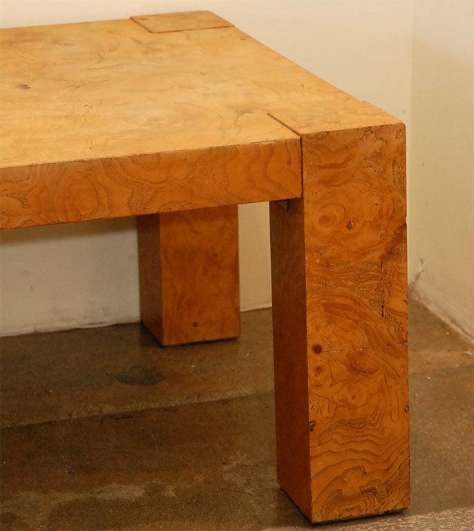 Lane Burl Wood Coffee Table: Lane Burl Wood Coffee Table At 1stdibs