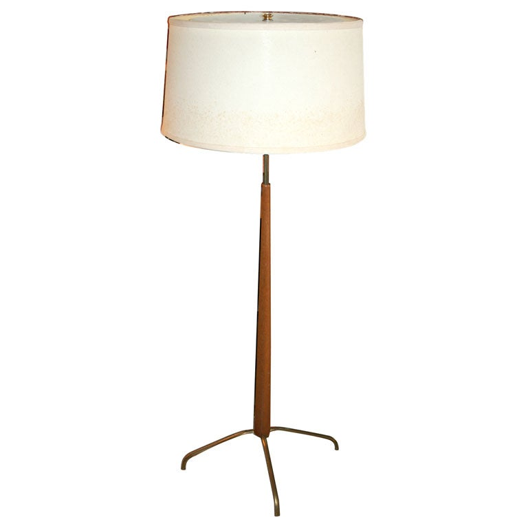 gerald thurston for lightolier adjustable height floor lamp at 1stdibs. Black Bedroom Furniture Sets. Home Design Ideas