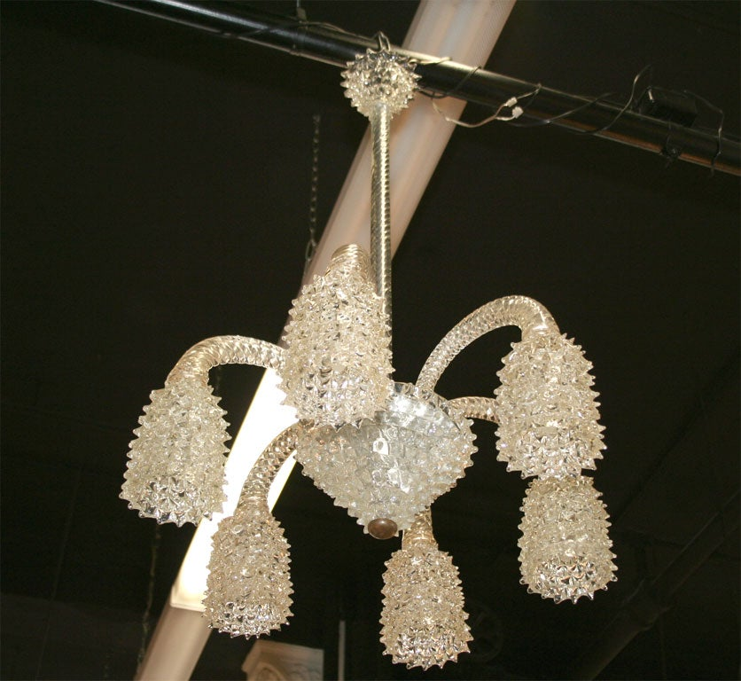 Chandelier By Barovier Toso At 1stdibs