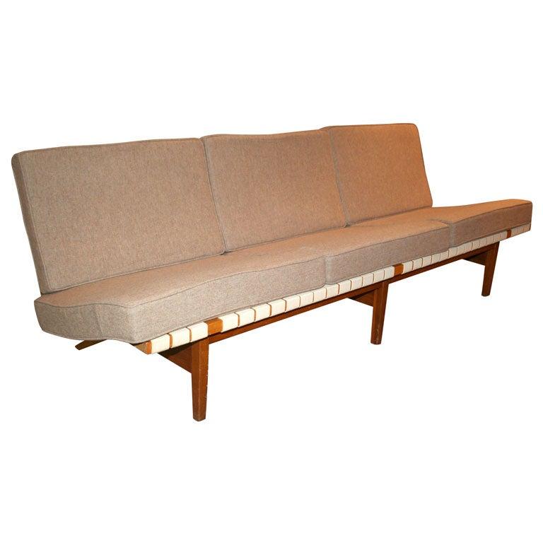 Lou butler 3 seat armless sofa mfg knoll w original for Sofa butler