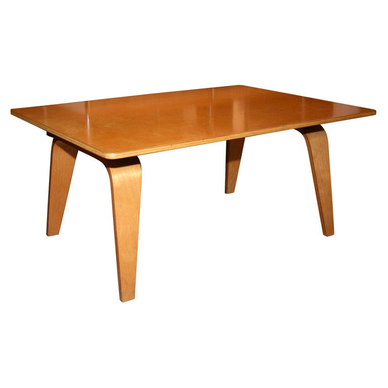 Early birch occasional table by charles and ray eames at 1stdibs - Eames occasional table ...