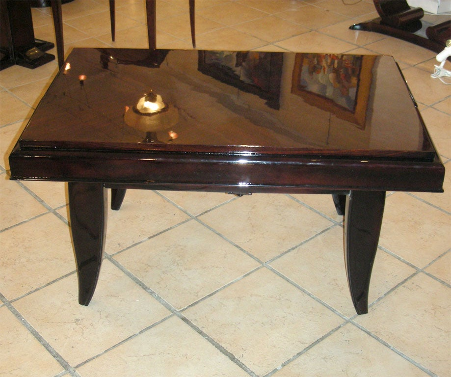 Rare 1930s Coffee Table Adjustable To Dining Table At 1stdibs