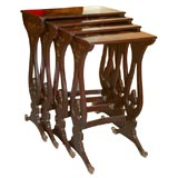 Set of Four Chinese Export Nesting Tables