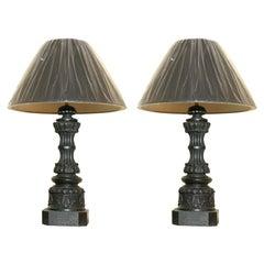 Regency Cast Iron Lamps