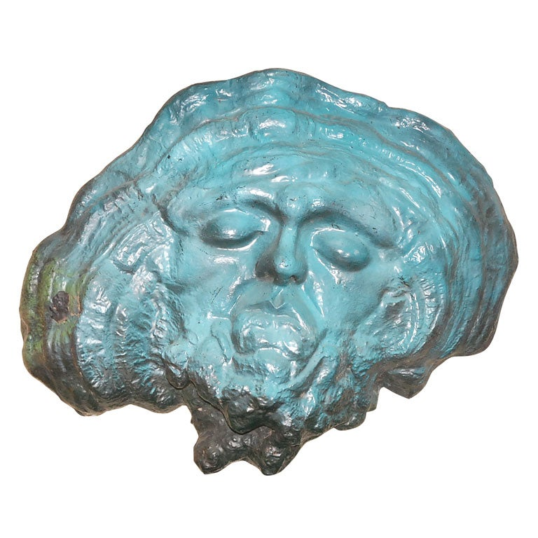 1960s Resin Wall Sculpture For Sale