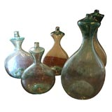 19th C. glass bottles