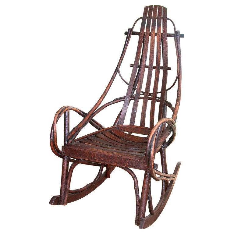 amish rocking chair at 1stdibs
