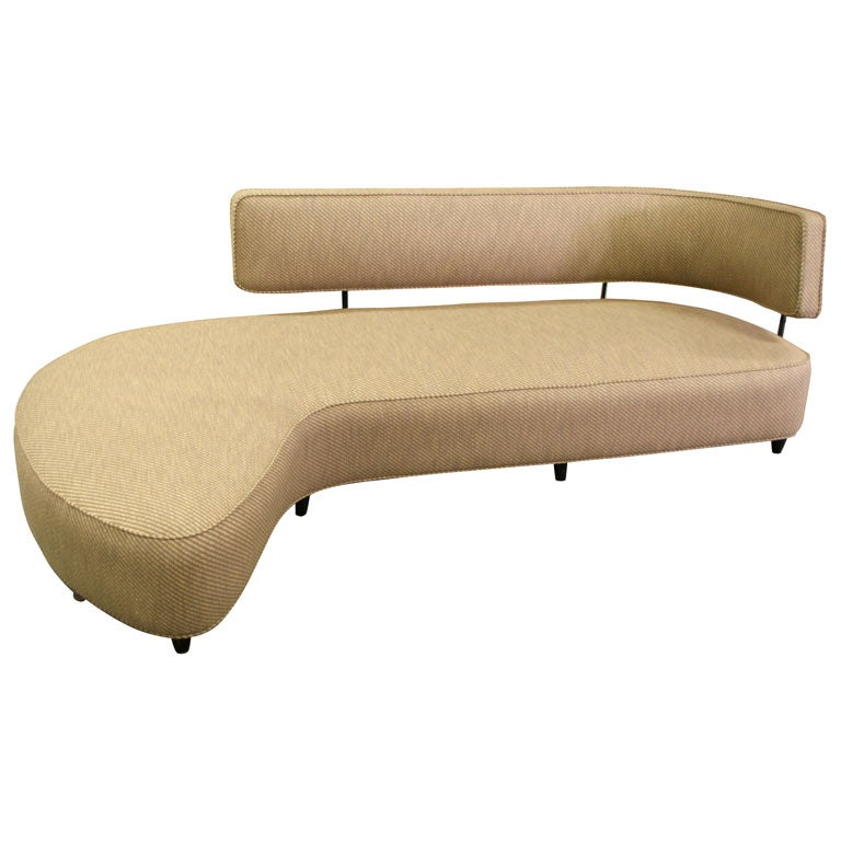 rare sofa by taichiro nakai at 1stdibs. Black Bedroom Furniture Sets. Home Design Ideas