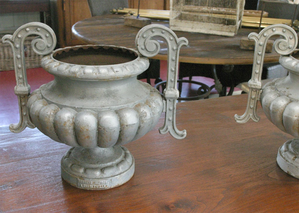 French Urns by Alfred Corneau a Charleville For Sale 1