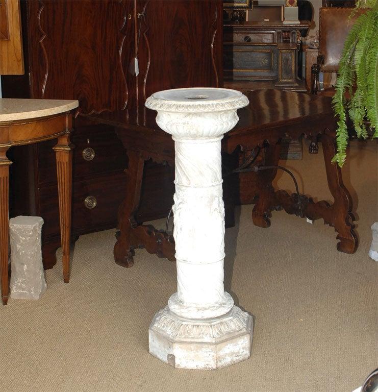 terra cotta pedestal at 1stdibs. Black Bedroom Furniture Sets. Home Design Ideas
