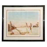 Signed and Numbered Surrealist Lithograph by Salvador Dali