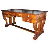 Mid-20th Century Mahogany Writing Table