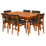 Hans Wegner Dining Table and Chairs