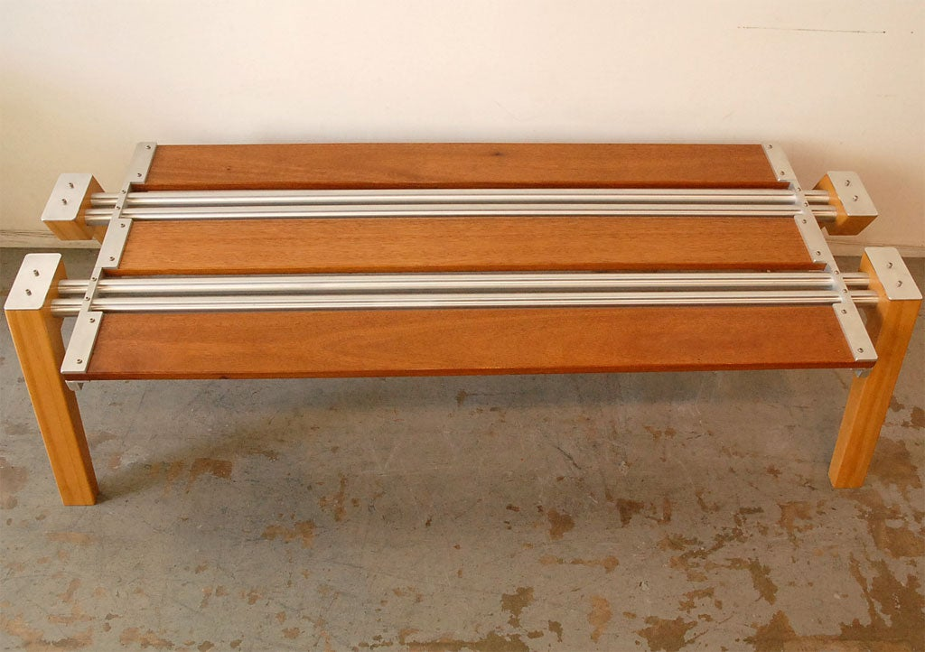 American Coffee Table by Marvin Drandell For Sale