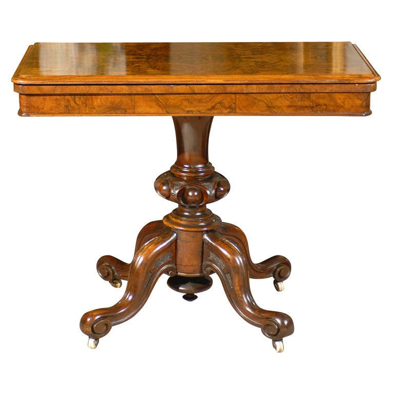 Victorian Coffee Table Furniture: Victorian Tea Table At 1stdibs