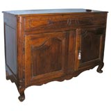 French Walnut Buffet