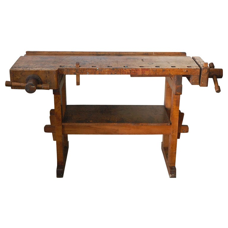 Carpenters Work Bench at 1stdibs
