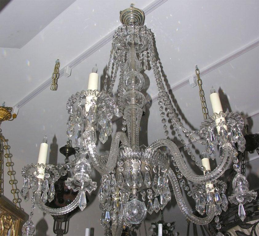 Georgian Chandelier: Five-light English Georgian Style Chandelier At 1stdibs