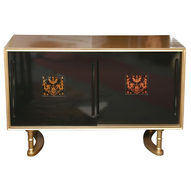50 Off Sale Elegant Quot Hollywood Glam Quot Credenza At 1stdibs