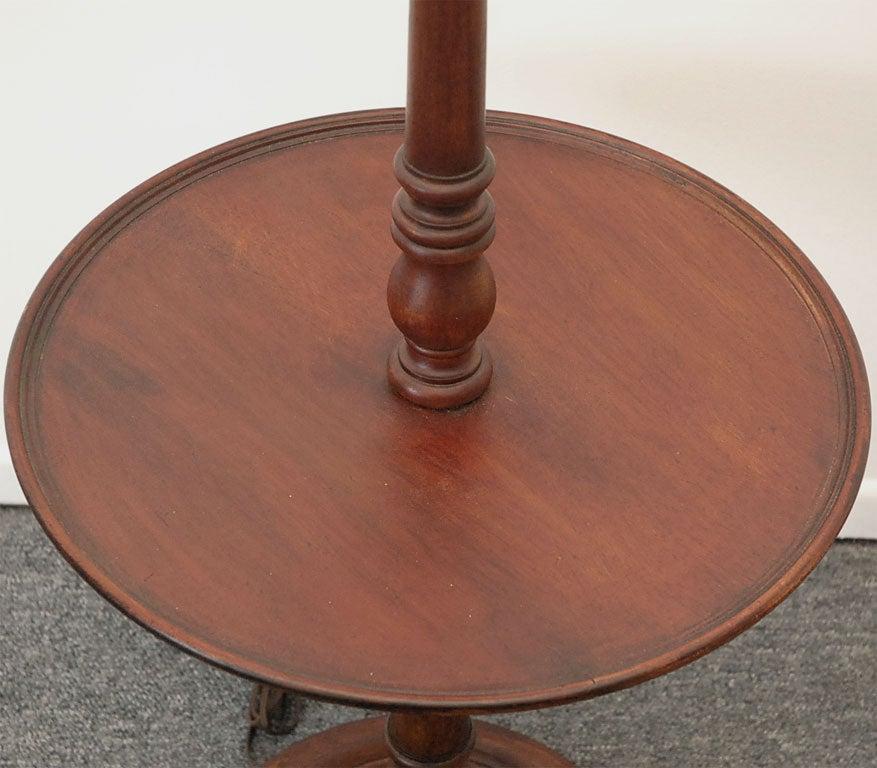 193039s mahogany floor lamp at 1stdibs for Antique mahogany floor lamp