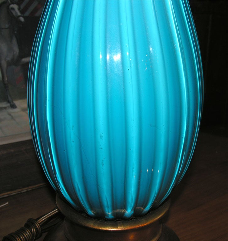 Venetian Murano Glass Lamp 5