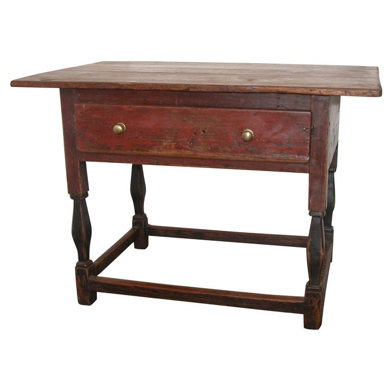Antique Pine Coffee Tables: Antique French Pine Coffee/Side Table At 1stdibs