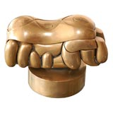 "Miguel Berrocal brass puzzle sculpture "" Romeo & Julliet"""