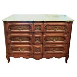 Louis XV, French Commode with Vernis Martin Painted Panels