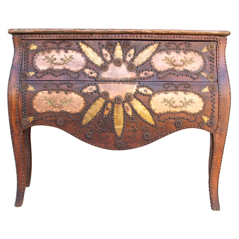 art nouveau louis xv style commode at 1stdibs. Black Bedroom Furniture Sets. Home Design Ideas
