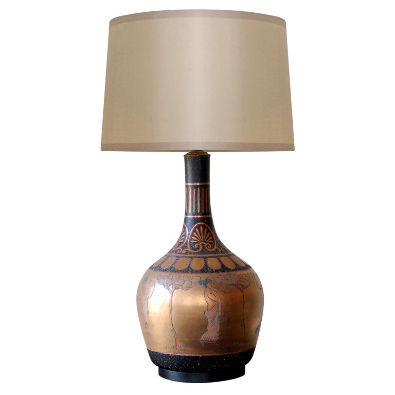 Greek Table Lamp At 1stdibs
