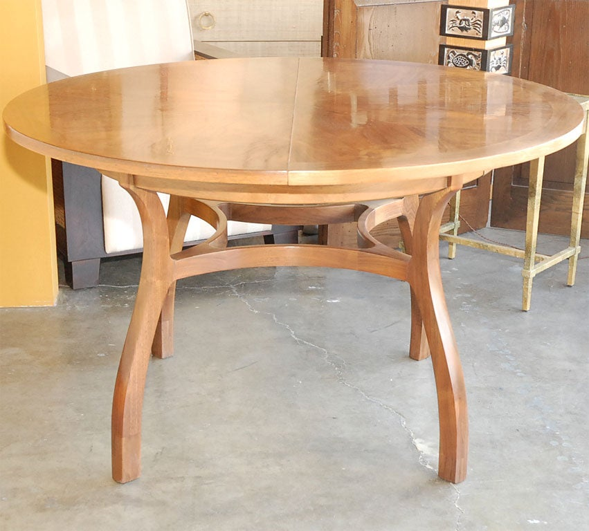 round walnut dining table at 1stdibs