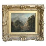 Mountain Landscape by Patrick Nasmyth 1787-1831