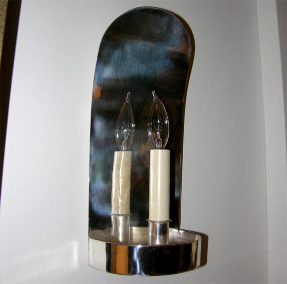 Fake Candle Wall Lights : pair of faux candles sconces at 1stdibs