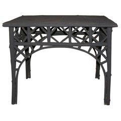 19th c.  Rustic Twig Conservatory Table