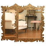 Gold Painted Frames with Mirrors