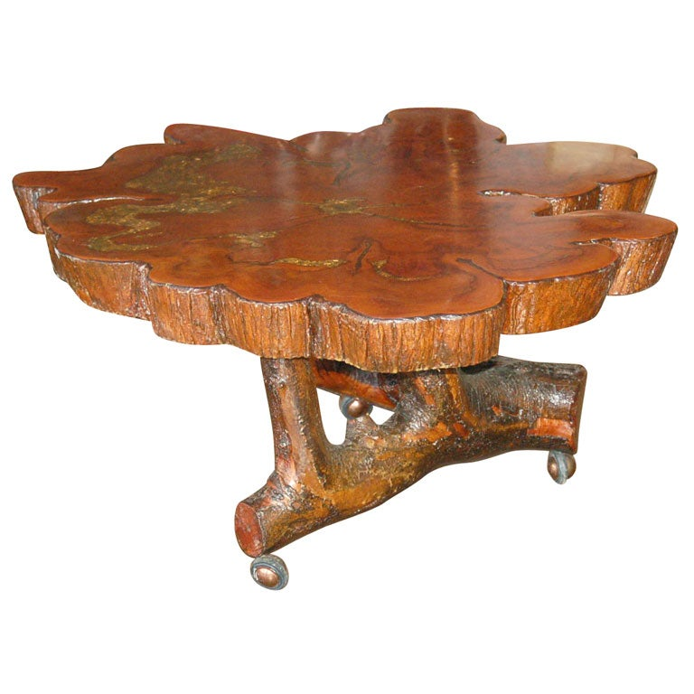 Root Coffee Table At 1stdibs