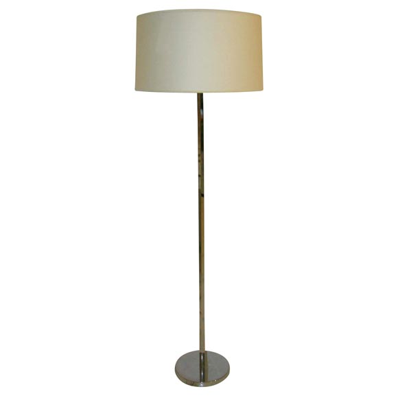 good looking steel and paper shade floor lamp is no longer available. Black Bedroom Furniture Sets. Home Design Ideas
