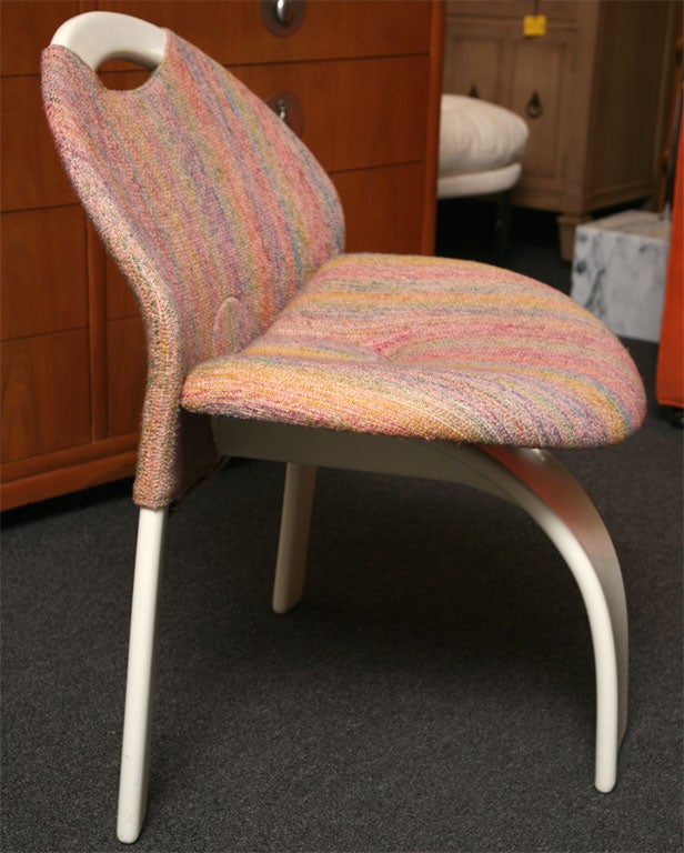 Onda Chair And Ottoman In Missoni Fabric By Giovanni: Giovanni Offredi Sail Chair Missoni And Saporiti At 1stdibs