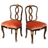 Pair of Venetian Chairs